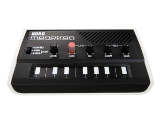 Korg'a monotron is analogue through and through.