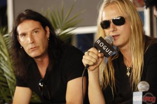 Sean Kinney with Jerry Cantrell