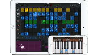 With Live Loops, you can trigger song elements with a tap.