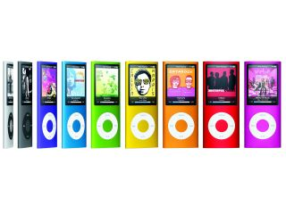 The iPod Nano chromatic range