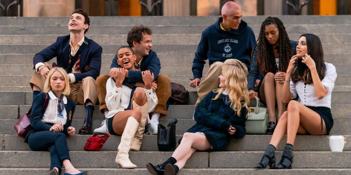 The Gossip Girl cast