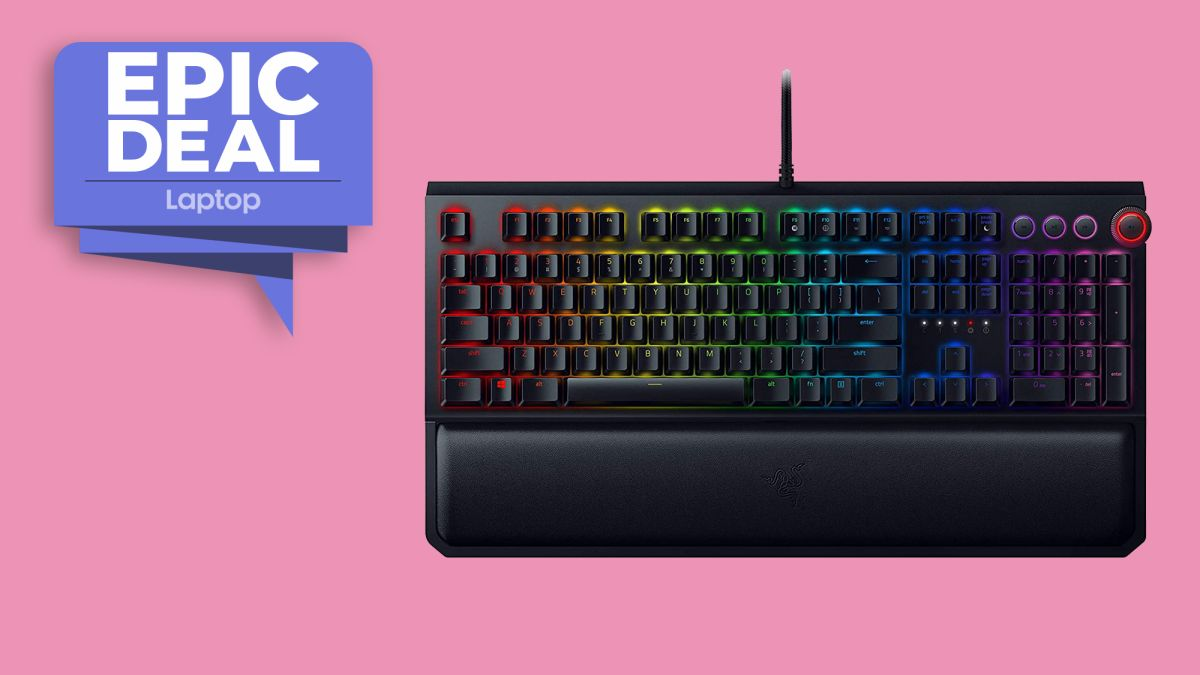 Act fast! The Razer BlackWidow Elite gaming keyboard is 50% in this Black Friday deal