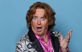 Shane Richie on being back tonight in Benidorm as naff entertainer Sammy Valentino