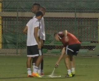 World Cup vanishing spray