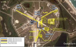Report Outlines SpaceX's Plans for Starship Launches from NASA's Kennedy Space Center