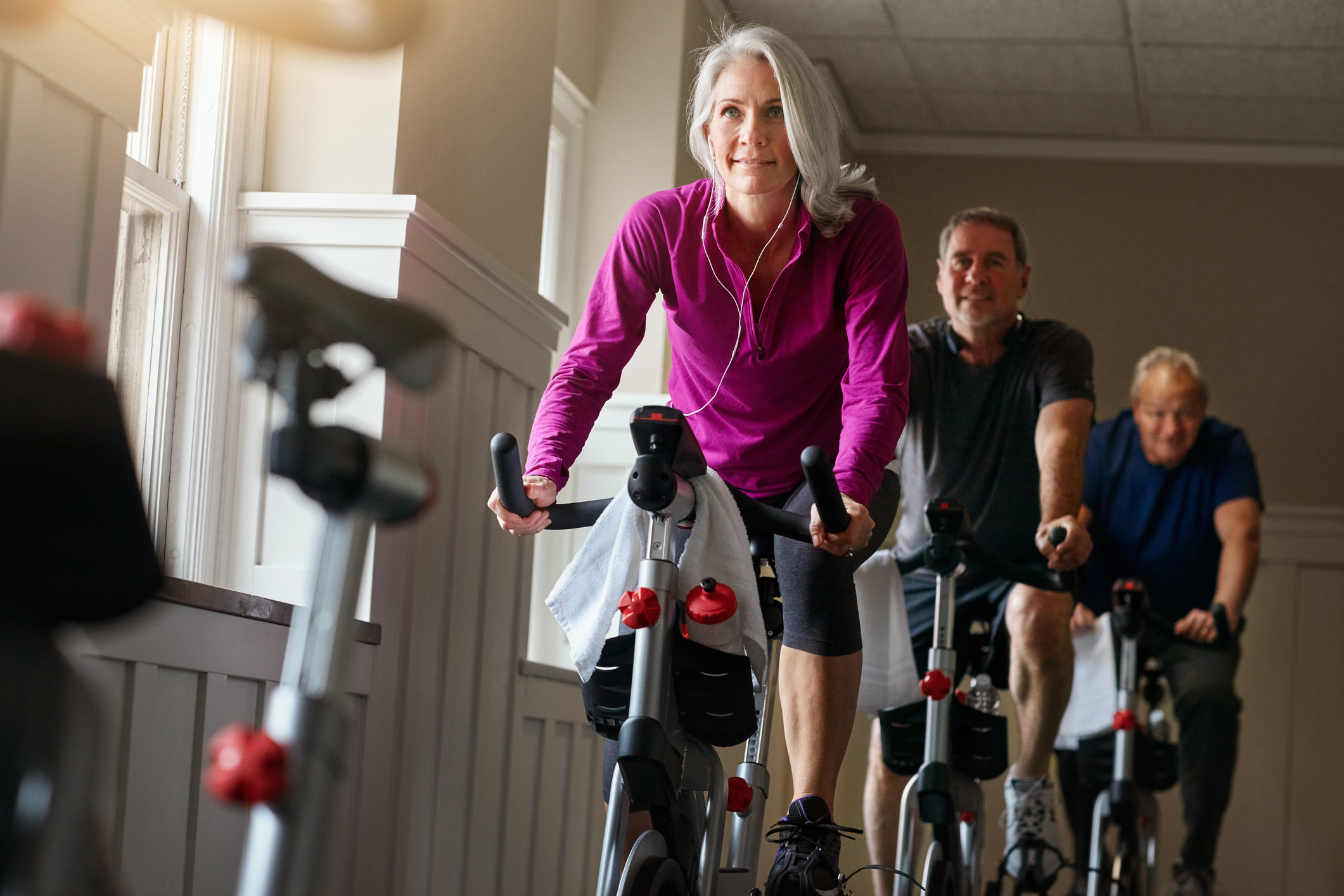 benefits of spinning