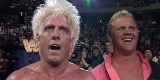 Ric Flair and Mr. Perfect at Royal Rumble 1992