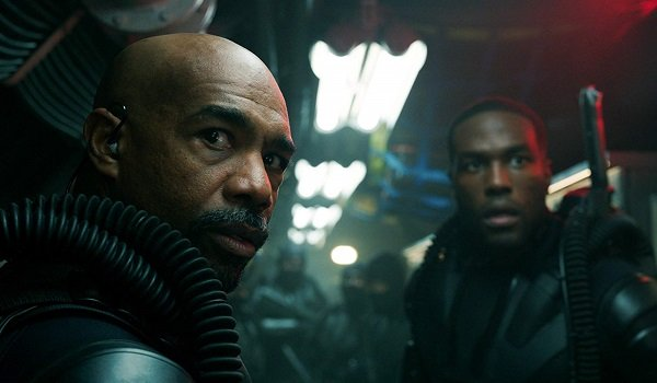 Jesse and David Kane Michael Beach Yahya Abdul-Mateen II Aquaman