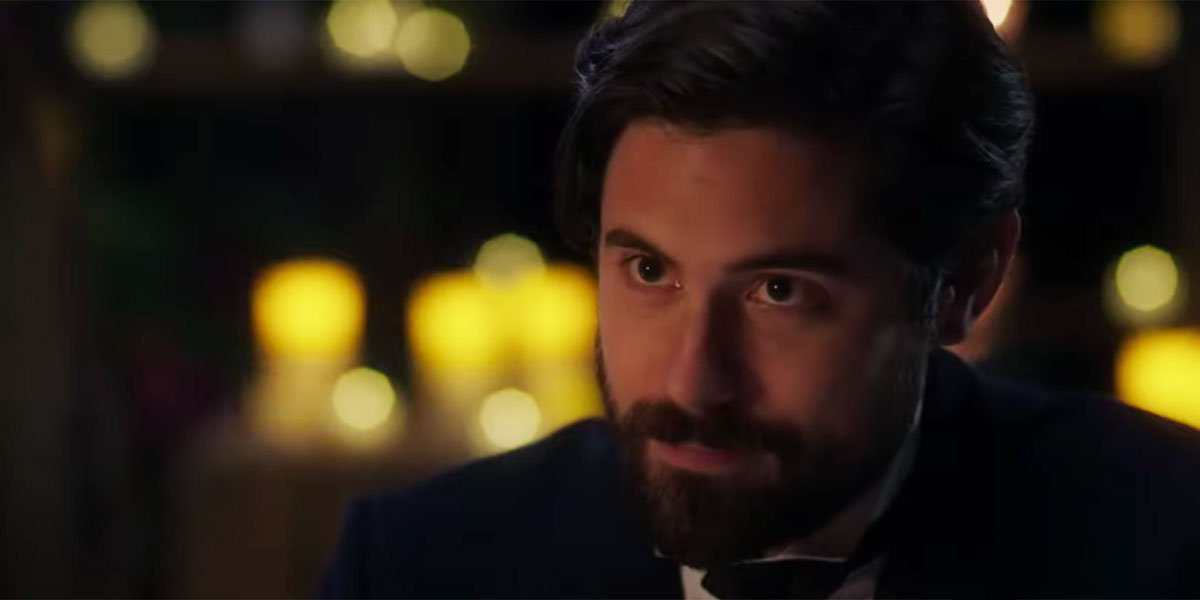 Chris McNally in When Calls The Heart trailer