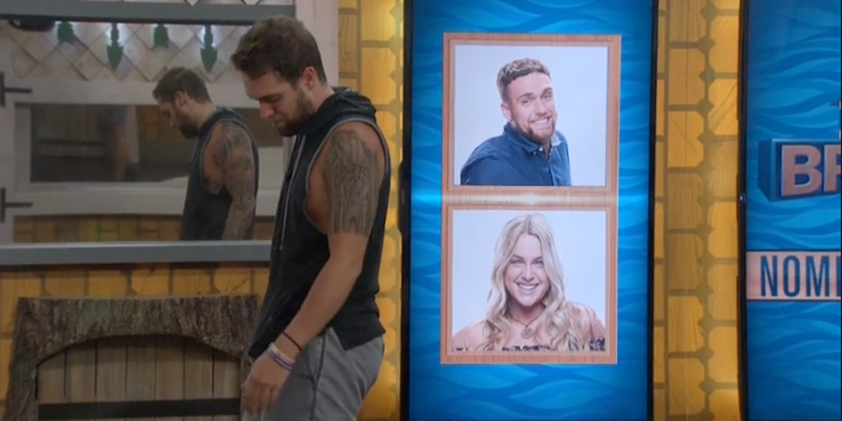 Big Brother 2019 Nick and Christie nominated