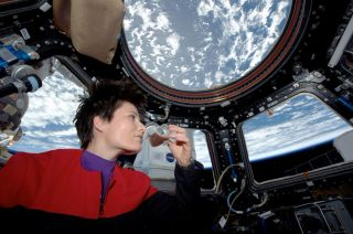 Astronaut Samantha Cristoforetti's 1st Cup of Coffee