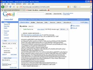Vanish working to obscure messages in Gmail on Firefox