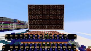 Minecraft word processor