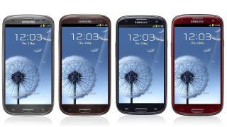 Samsung Galaxy S3 arriving in UK in four new colours