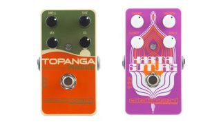 Here s the Topanga Spring Reverb and the Karma Suture in all their pedal y glory