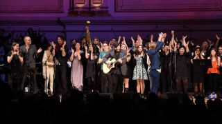 The stars of last night's Bowie show at Carnegie Hall