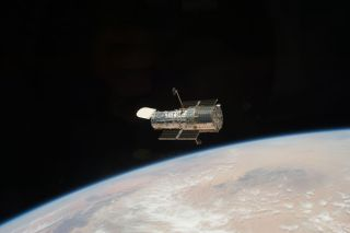 Hubble Space Telescope, an icon in space.