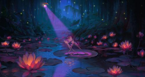 The Princess and the Frog - Disney's animated musical evokes the moody magic of the Bayou
