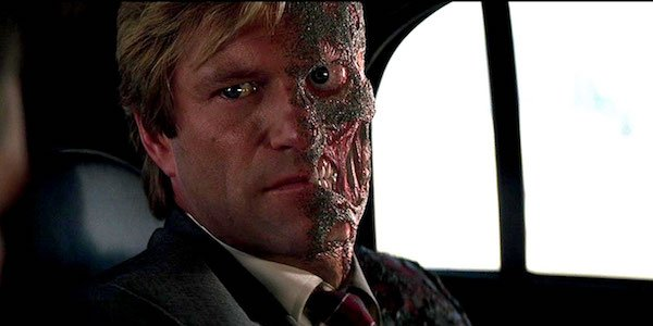 Two Face in The Dark Knight