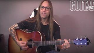 Steve Stine demos Furch guitars