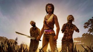 TWD Michonne E3 key art no logo