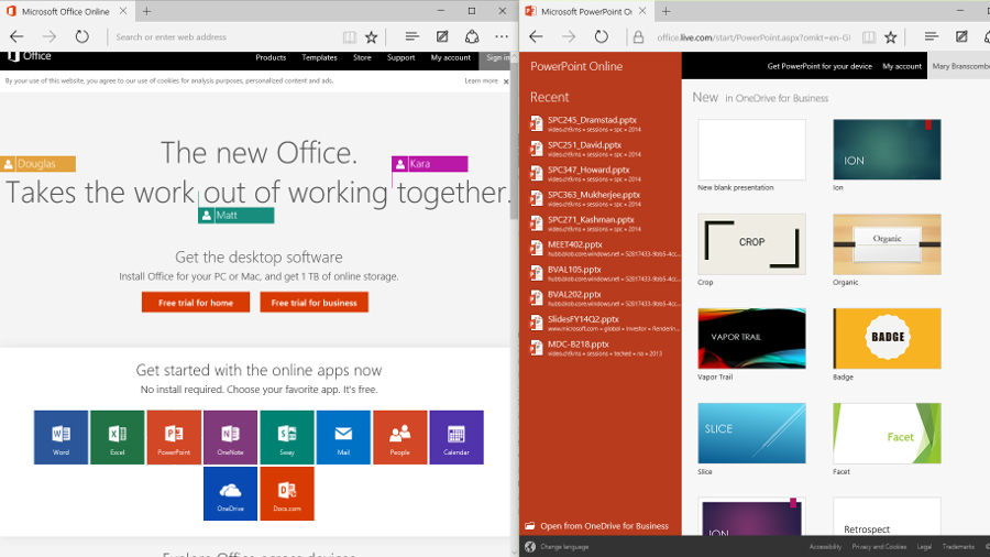 office 2016 trial