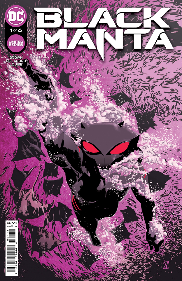Portada de Black Manta # 1