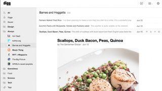 Digg Reader launch