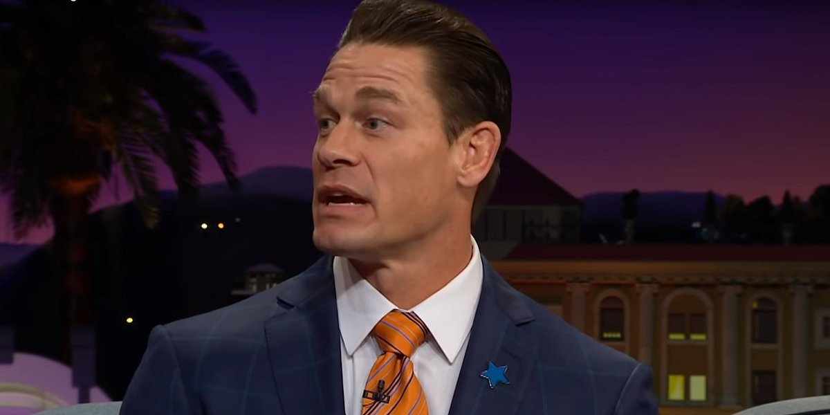 John Cena The Late Late Show With James Corden CBS