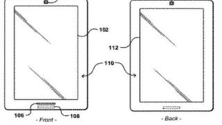 Two sided Kindle patent