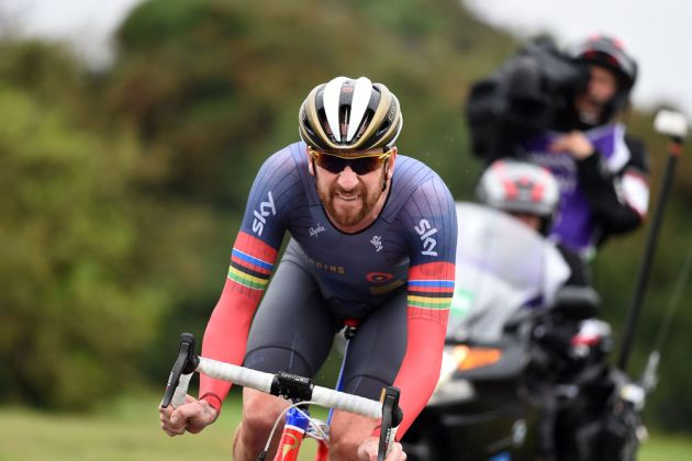 Bradley Wiggins, Tour of Britain 2016, stage 7a time trial