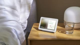 The Google Nest Hub smart display