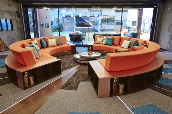 The retro sofa was inspired by Mad Men (Channel 5)