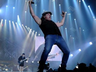 Looks like Brian Johnson is 'carrying' on just fine