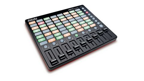 The Mini has more clip launch buttons than any other Akai device, with 64 of them