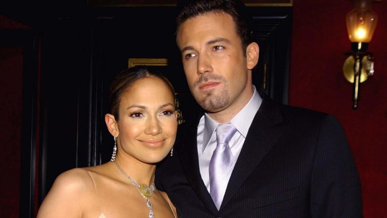 """Maid in Manhattan"" Premiere - Arrivals Jennifer Lopez and Ben Affleck"