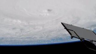ISS Views Hurricane Matthew
