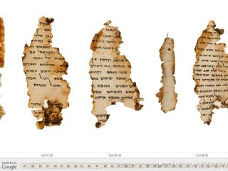 Dead Sea Scrolls get new lease of life from Google
