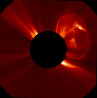Coronal Mass Ejection, September 21, 2011