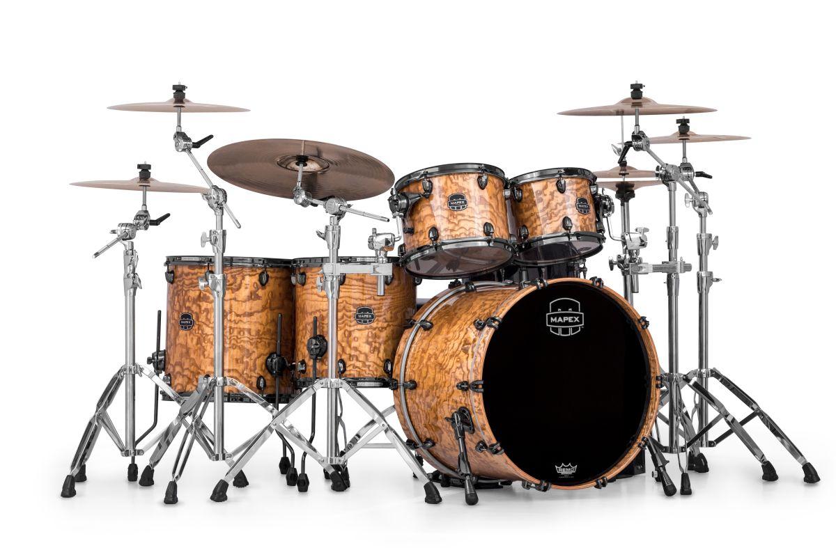 namm 2013 mapex announces new kits snares and hardware musicradar. Black Bedroom Furniture Sets. Home Design Ideas