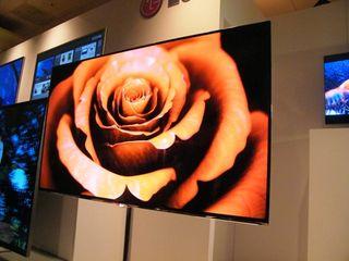 LG unveils 55-inch OLED TV behemoth