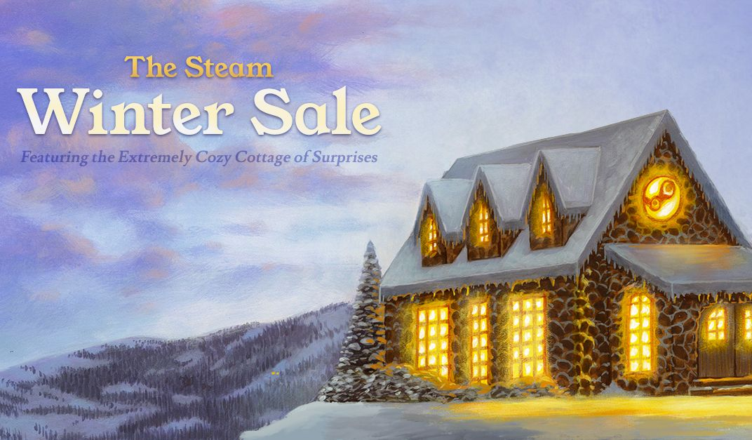 the steam winter sale 2018 has begun pc gamer. Black Bedroom Furniture Sets. Home Design Ideas