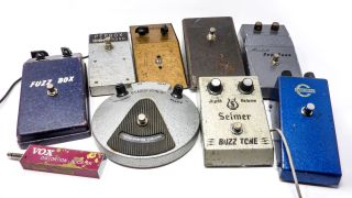 Various mid '60s fuzz pedals