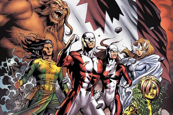 X-Men Alpha Flight Team Lineup