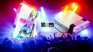 Hatsune Miku and Anamanaguchi are goin' on tour together