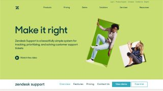 Zendesk - Helpdesk software with integrated customer support interactions