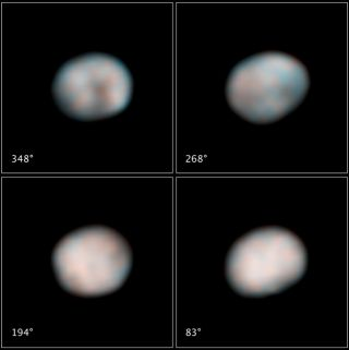 As the Asteroid Turns: Hubble Records New Video of 2nd Biggest Space Rock