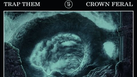 Trap Them 'Crown Feral' album cover