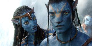 Zoe Saldana, Sam Worthington - Avatar