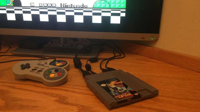DIY hack turns an old NES cartridge into any retro console you want
